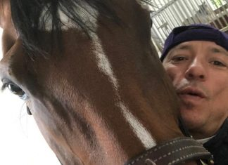 """""""What a mare! We're on the road to Longchamp,"""" said Dettori, eyeing success in the Arc de Triomphe."""