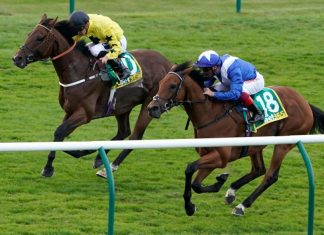 Lord North and Frankie Dettori win the bet365 Cambridgeshire - back in action at Lingfield.
