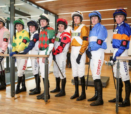 The jockey room at Aintree Racecourse