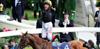 Frankie Dettori geared up for Royal Ascot