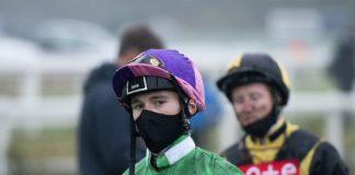 Jockey David Egan: Glorious Goodwood ban costly. Photo: Twitter.