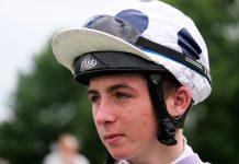 Hurricane Alex was ridden by jockey Rossa Ryan.