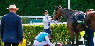 Dettori sheds tears after superstar Enable retired