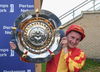 Galileo Chrome jockey Tom Marquand: Dreams come true. Image Twitter