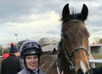 Barry McHugh rides Mamba Wamba in William Hill Listed Trophy at Redcar.
