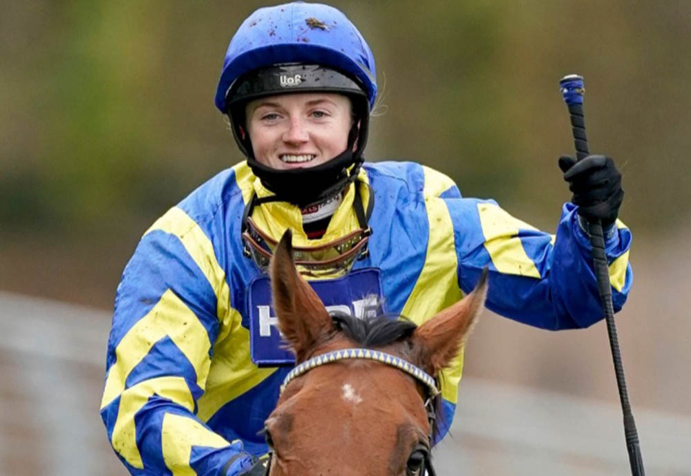 Hollie Doyle completed fromthehorsesmouth.info £51,230 Goliath bet on Amtiyaz.