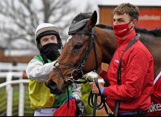 The 2020 Ladbrokes Trophy winner.... Cloth Cap- Photo: Newbury Racecourse