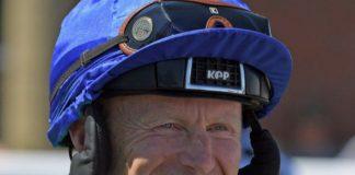 Joe Fanning rides Tinto (1.11) at Lingfield Park. Photo: Twitter