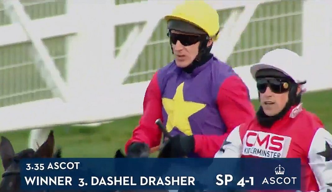 Dashel Drasher wins Grade 1 Betfair Ascot Chase