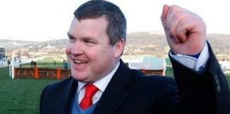 Under-fire trainer Gordon Elliott.