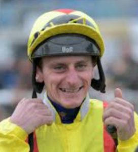 Adam Kirby rides Clive Cox trained River Nymph (7-1) from 16s in Lincoln Handicap at Doncaster.