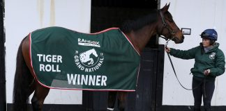 Tiger Roll withdrawn from Aintree Grand National