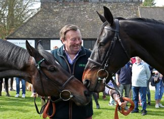 Top veteran trainer Nicky Henderson