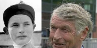 Eric Alston, apprentice jockey to trainer, spanning almost six decades, saddles Maid In India at Haydock Park on June 8.