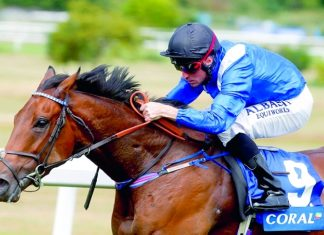 Battash is on track for a tilt at landing the King's Stand Stakes at Royal Ascot