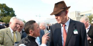 Gosden with Frankie Dettori