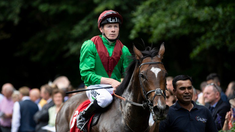 Jamie Spencer rides Clitheroe (1.50) in tote Prestige Group 3 Stakes at Goodwood.
