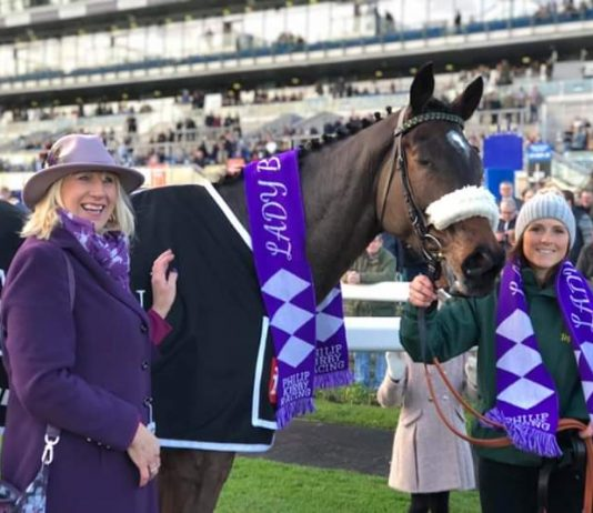 Trainer Philip Kirby announces Lady Buttons retirement