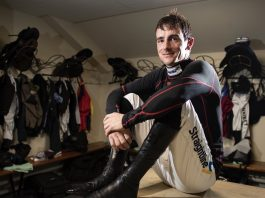 Brian Hughes is level on winners with Richard Johnson and he's pushing for the jockeys' title.