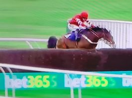 The Paddy Pie: 13 lengths win under Danny Cook.