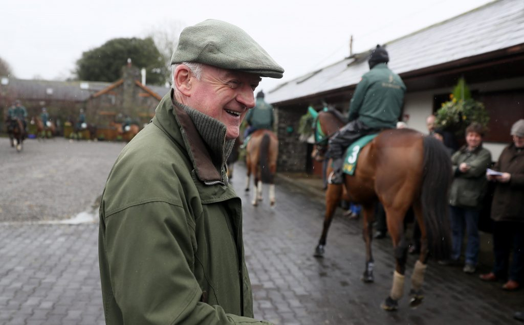 Trainer: Willie Mullins the most successful trainer at the Cheltenham Festival.