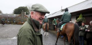 Willie Mullins trained Faugheen (9/2 is tipped each-way in the Marsh Novices' Chase