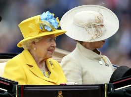 HM The Queen at Royal Ascot