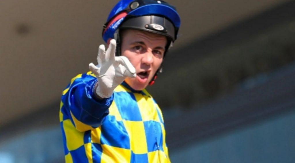 Jockey Luke Tarrant: six months ban for head-butting.
