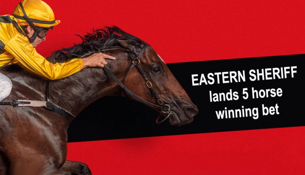 Eastern Sheriff fires 1,067 Lucky 31 fromthehorsesmouth.info five horse winning bet