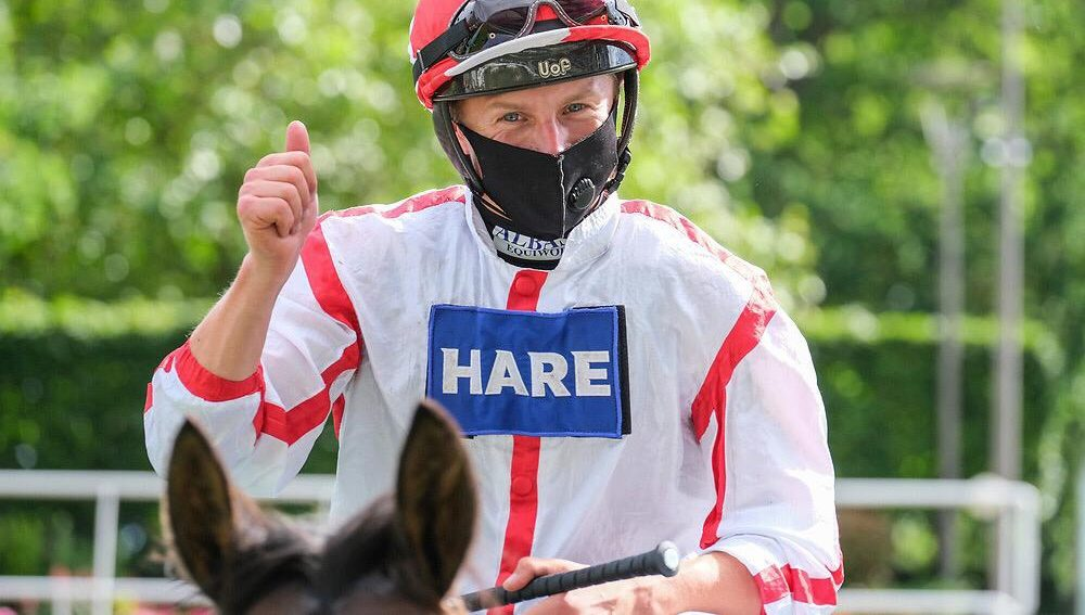 Tom Marquand rides Sir Maxi (4.05) and Elvrika (4.40) Haydock Park.