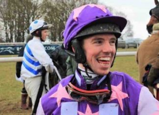 Aspiring jockey Jacob Pritchard Webb