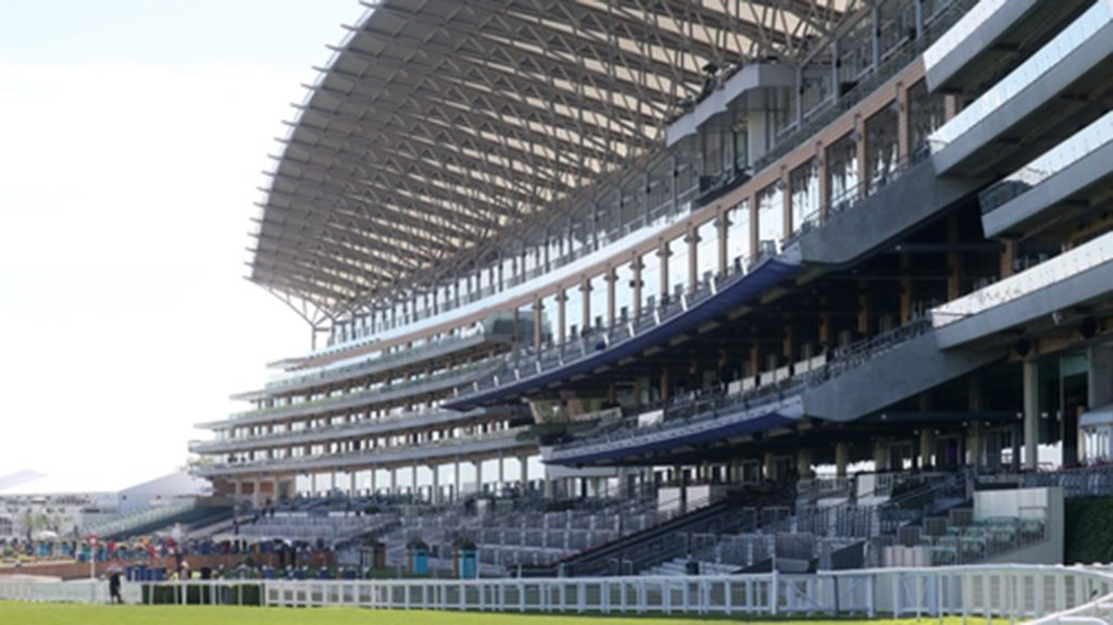 Ascot closed doors