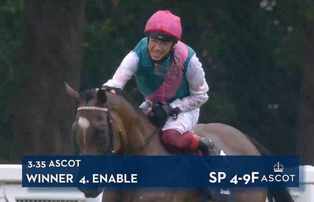 My Girl! Enable makes history under Dettori