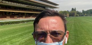Frankie Dettori at Longchamp