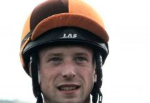 Australis (13-8) ridden by Jack Mitchell completed fromthehorsesmouth.info 'Magnificent 10' winning tip. Photo: Twitter.