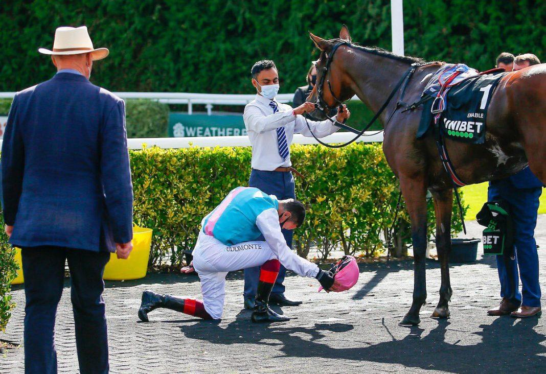 Dettori sheds tears after superstar Enable retired