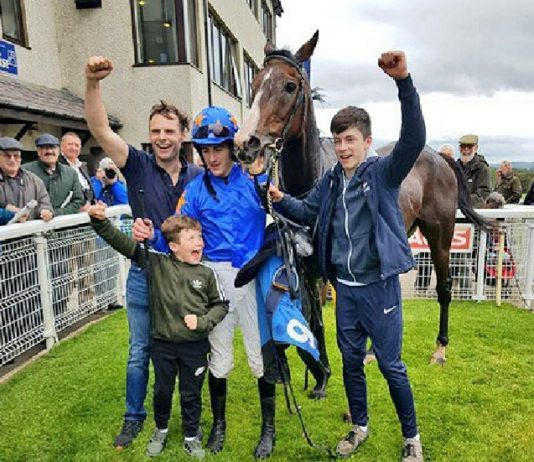 See Double You wins at Hexham in 2018. Photo: Twitter.