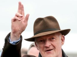 Mullins fined €2,500 and two week racecourse ban