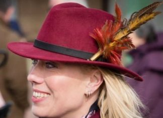 Kerry Lee: hoping for another feather in her hat at Cheltenham. Photo: Twitter.