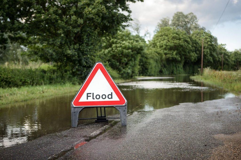 Huntingdon abandoned after Alconbury Brook burst banks