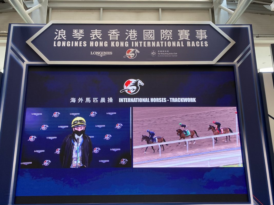 Moore will be on board Magical in Sunday's Longines Hong Kong Cup at Sha Tin