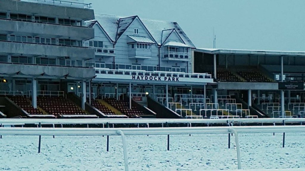 Frost covers at Haydock after passing inspection ahead of Saturday's meeting