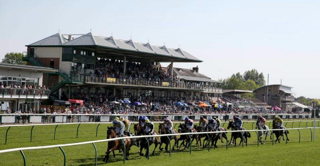 Appeal by Warwick racecourse to stay safe - stay away - during coronavirus lockdown. Photo: Warwick races, pre-covid.