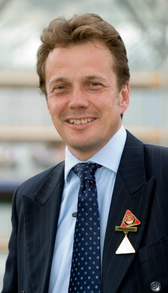 Ascot clerk of the course Chris Stickels: Rain forecast wouldn't be a threat