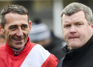 Davy Russell: hugely disappointed to miss Cheltenham Festival.