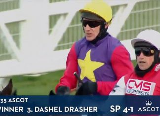 Dashel Drasher wins Grade 1 Betfair Ascot Chase