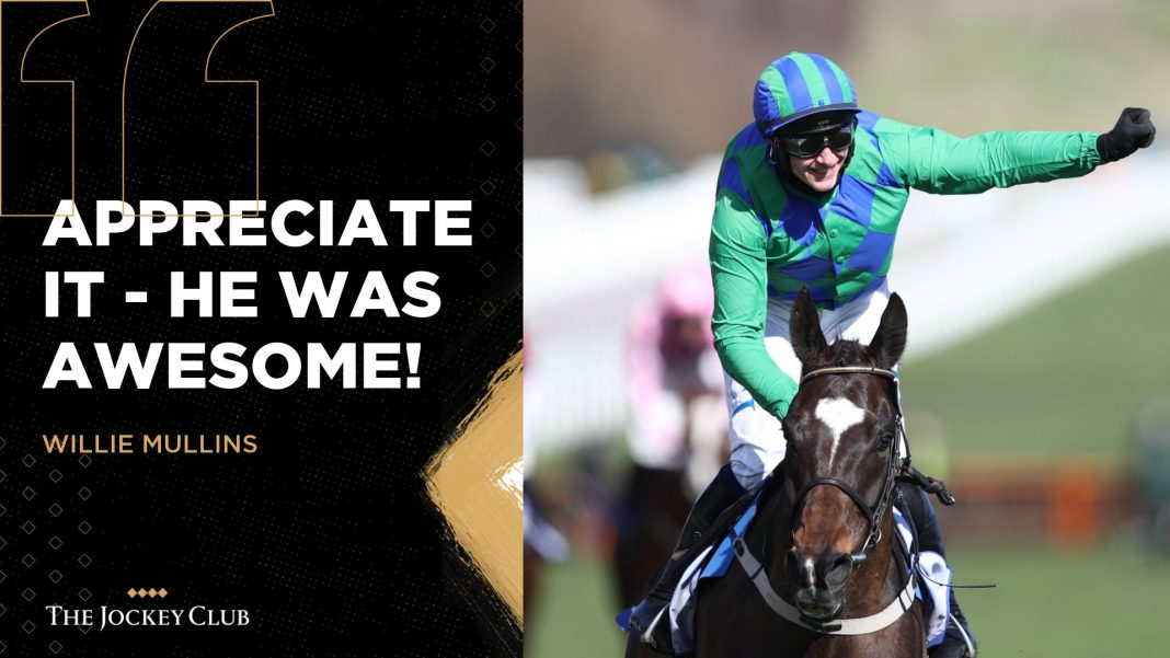 Appreciate It outclasses them all in the @SkyBet Supreme Novices' Hurdle, to give trainer @WillieMullinsNH a seventh win in the race