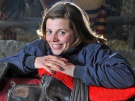 Sam England: saddled Rukwa to wins at Bangor and Huntingdon. Photo Twitter