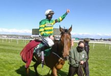 Fakir D'Oudairies was credited with the performance of the day at Aintree