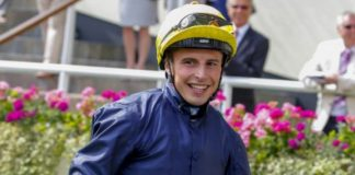 William Buick rode fromthehorsesmouth.info tip Hurricane Lane to victory in Irish Derby.
